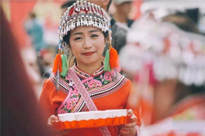 Mopan Feast in central Yunnan's Xinping County