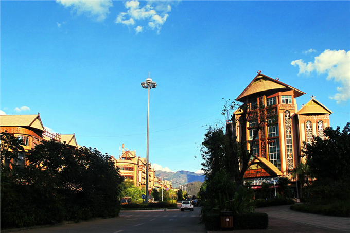 beautiful county towns in Yunnan Province