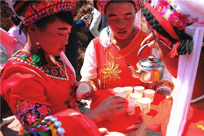 """""""Prince Meeting"""" in Jianchuan county of Dali"""
