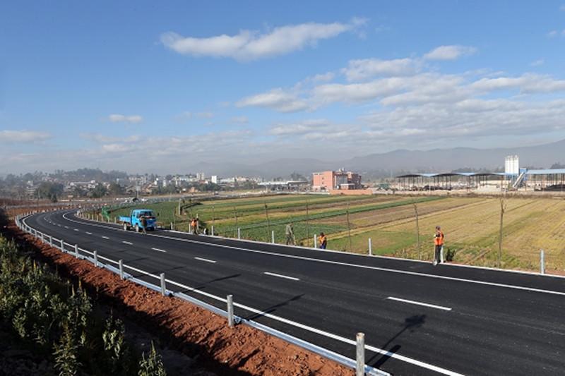 ChuGuang Expressway from Chuxiong to Guangtong