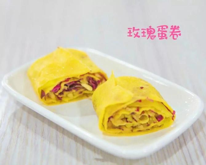 Rose egg roll