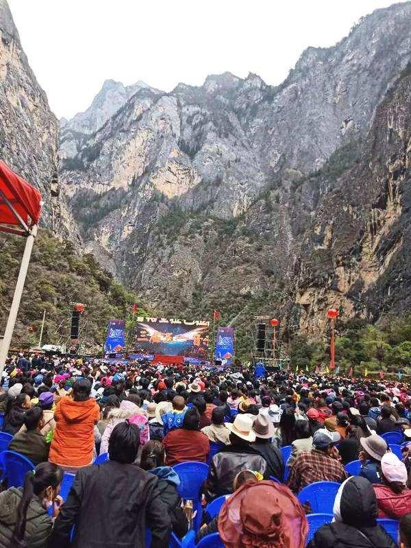 The Balagezong Music Festival in Shangri-la