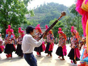 Yang Yingjin - Inheritor of Yi Hulusheng Dance in Xichou County, Wenshan-03