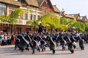 Monihei Carnival in Cangyuan County of Lincang, Yunnan