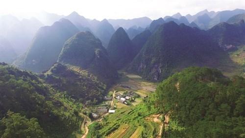 Dong Van Karst Plateau Geopark in Vietnam