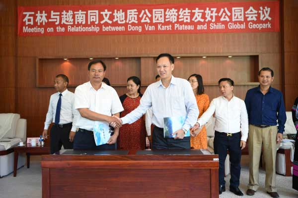 Stone Forest forges sistership ties with Vietnam's Dong Van