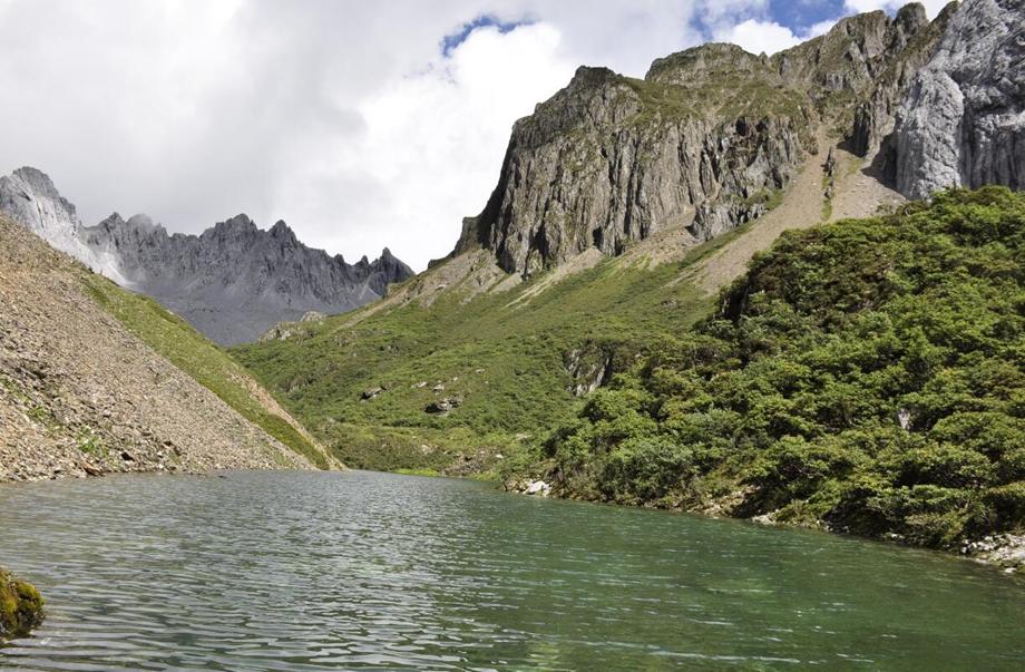 Abuji scenic area in Shangri-La, Diqing, Yunnan
