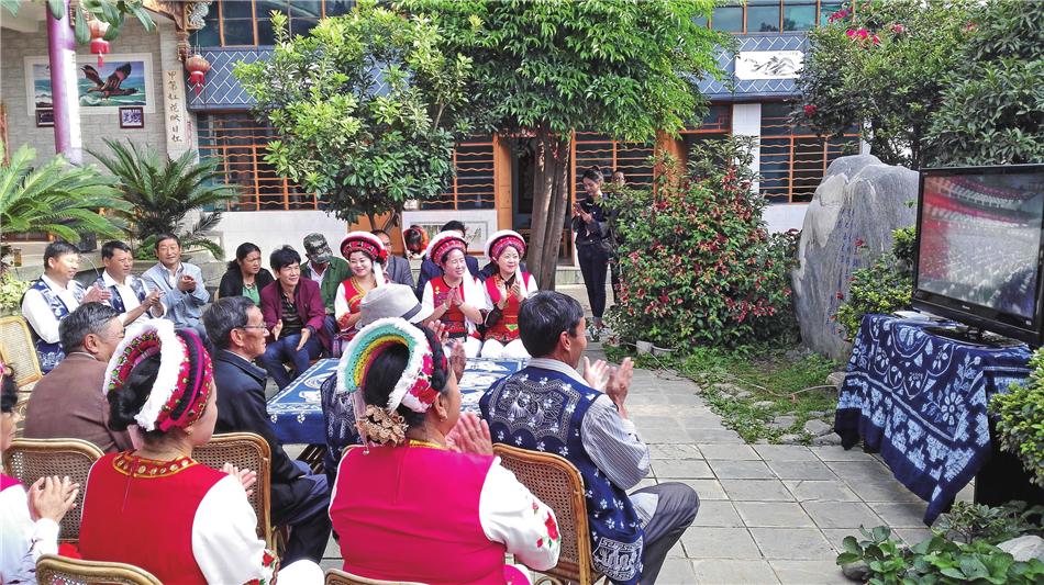 Gusheng Village in Wanqiao Town of Dali City