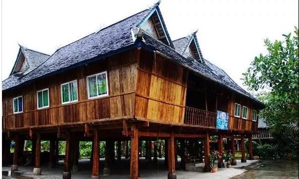 The Bamboo House in Xishuangbanna, Yunnan