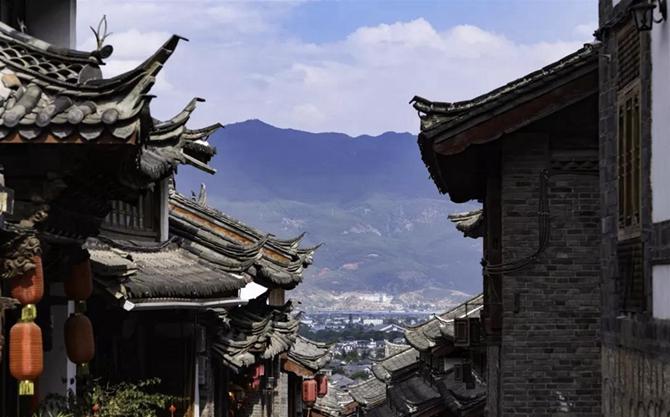 distinctive folk residences in Yunnan