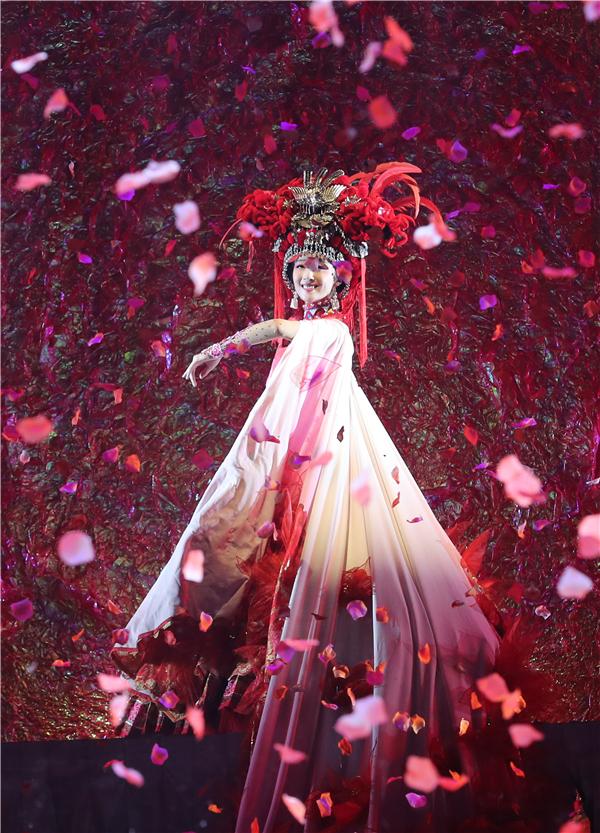 """Yunxiu Yishang"", a large-scale music and dance drama in Chuxiong, Yunnan"