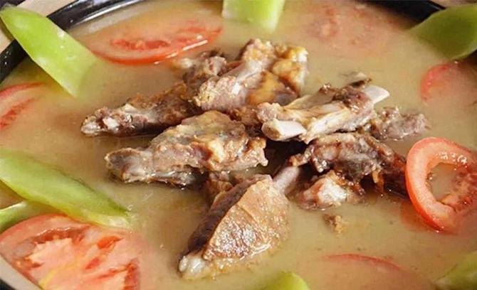 Cured Pork Ribs in Baoshan Stone City of Lijiang
