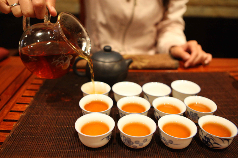 Tea Tasting in Yunnan