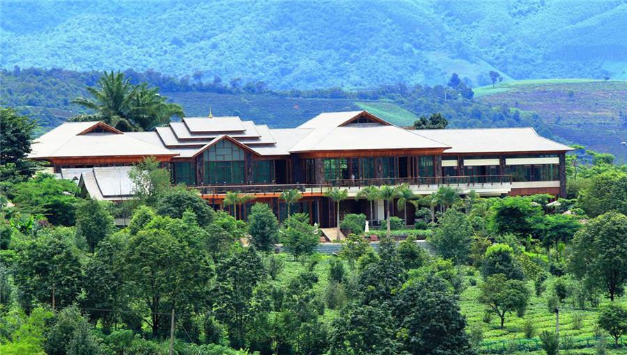 Bolian Puer Tea Manor in Lancang County, Puer