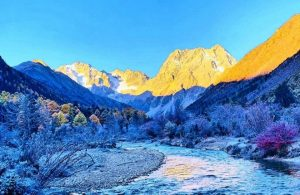 Quzonggong area in Baima Snow Mountain in Diqing, Yunnan