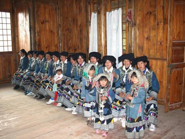 Bailuo Ethnic People in Yunnan