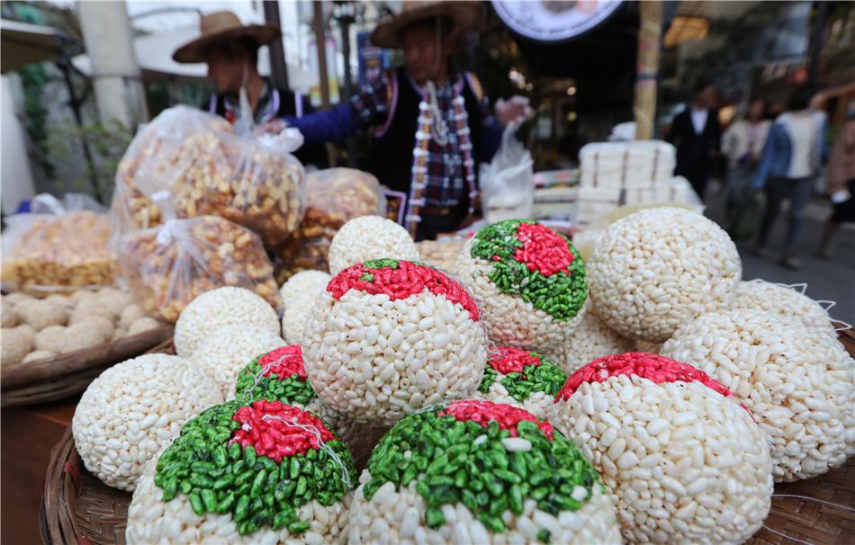 Road-side stalls at Nanqiang Night Market