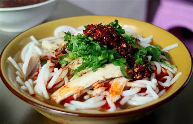 Rice noodle in Yunnan