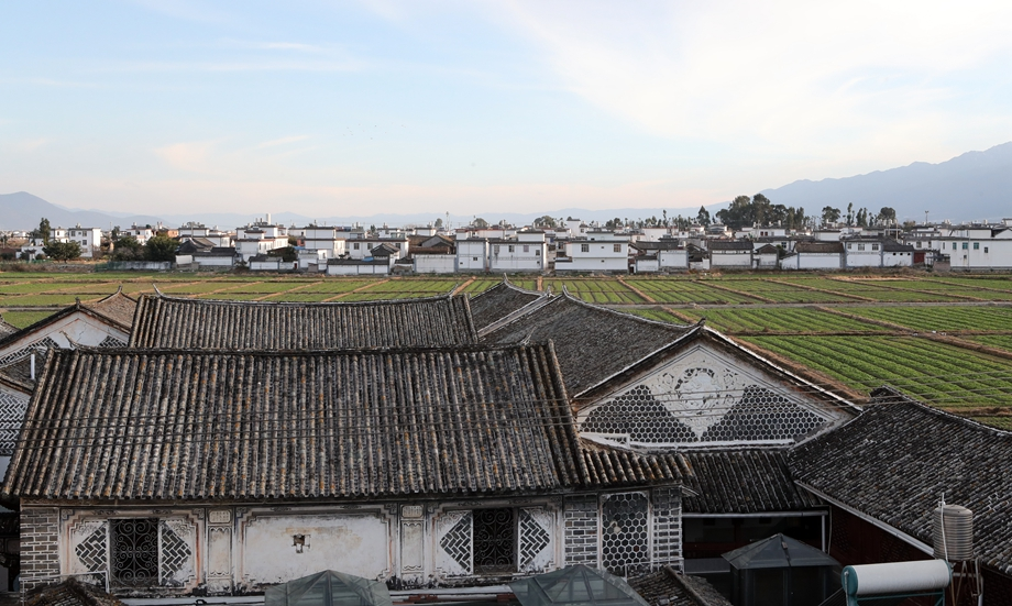 Xizhou ancient town in the north of Dali City, Dali Prefecture