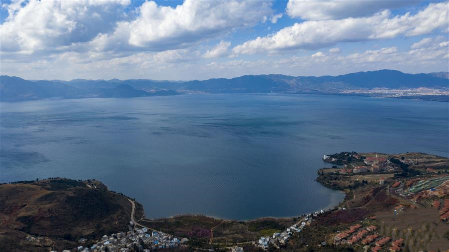 Fuxian Lake in Yuxi