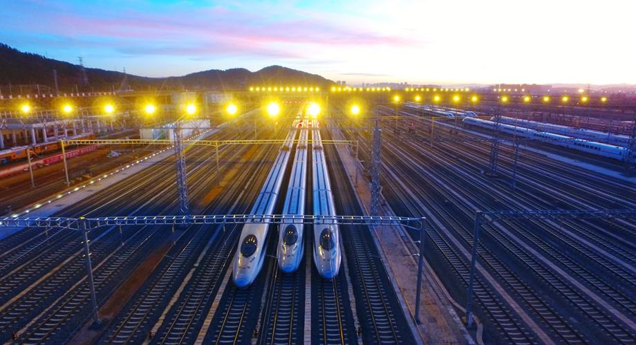 The high-speed rail in Yunnan