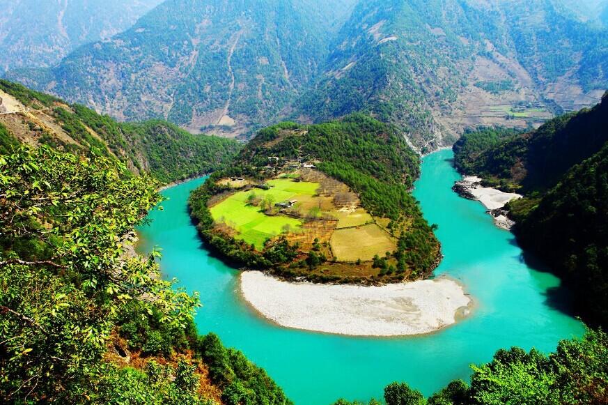 Nujiang Grand Canyon in Yunnan