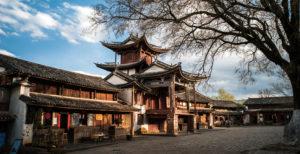 Shaxi Ancient Town in Dali