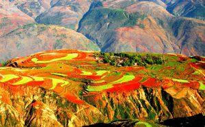 Dongchuan Red Land,Kunming