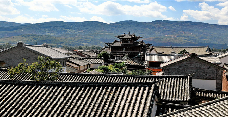 Donglianhua Village in Weishan County, Dali
