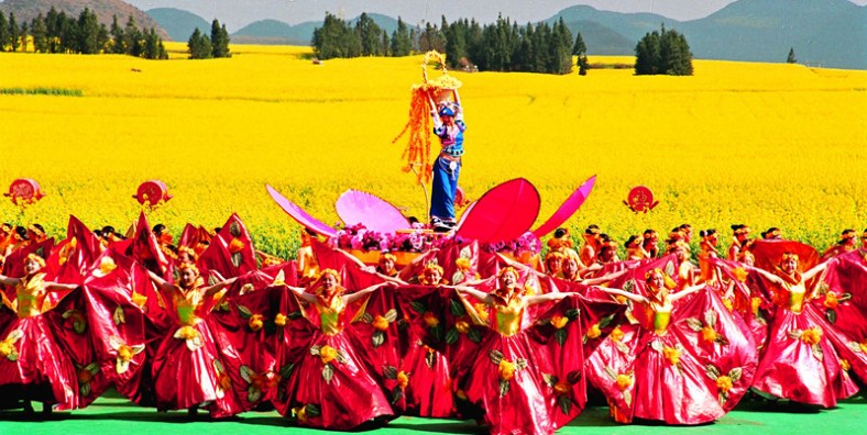11 Days Yunnan Photograph Tour with Luoping Rapeseed Flowers Festival and Honghe Hani Rice Terraces Field (Feb-March Available)