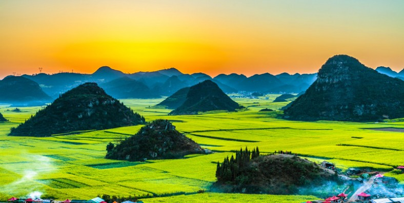 5 Days Kunming Spring City and Luoping Rapeseed Flowers Photography Tour