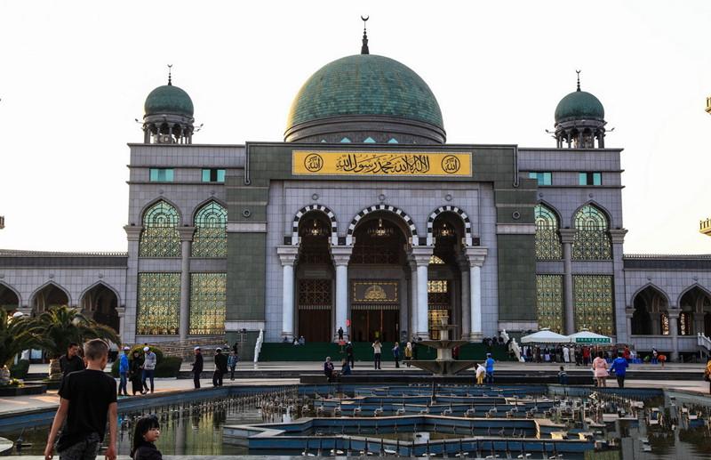 Shadian Grand Mosque in Gejiu City, Honghe