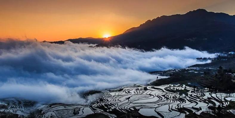 1 Day Yuanyang Hani Rice Terraces Hiking Tour from Duoyishu to Laohuzui