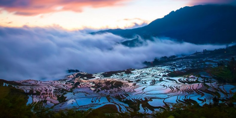 6 Days Kunming Jianshui Yuanyang Hani Rice Terraces Photography Tour